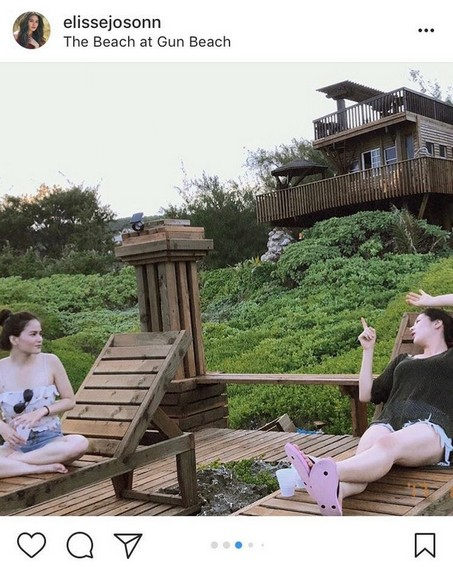 Friendship of Elisse and Jinri through the years