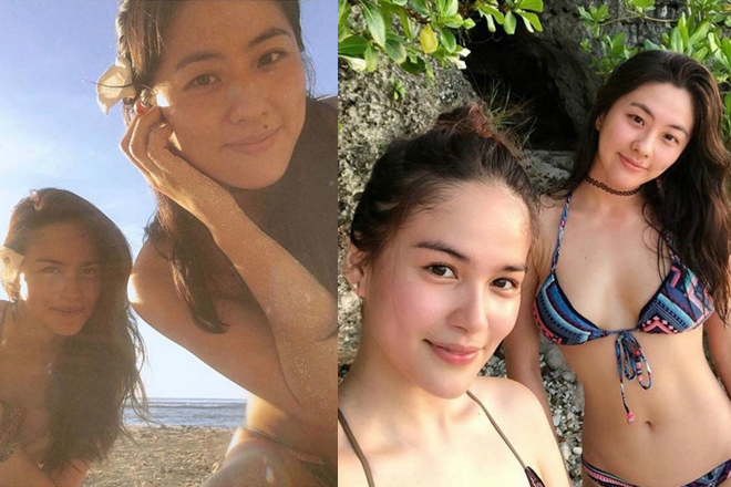 LOOK: Elisse Joson with her sexy sister at heart!